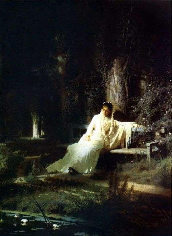 月光之夜   伊万克拉姆斯科伊