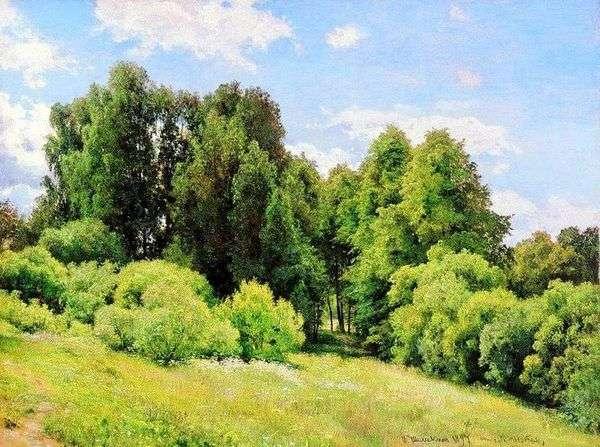 Forest Glade(Polyanka)   Ivan Shishkin