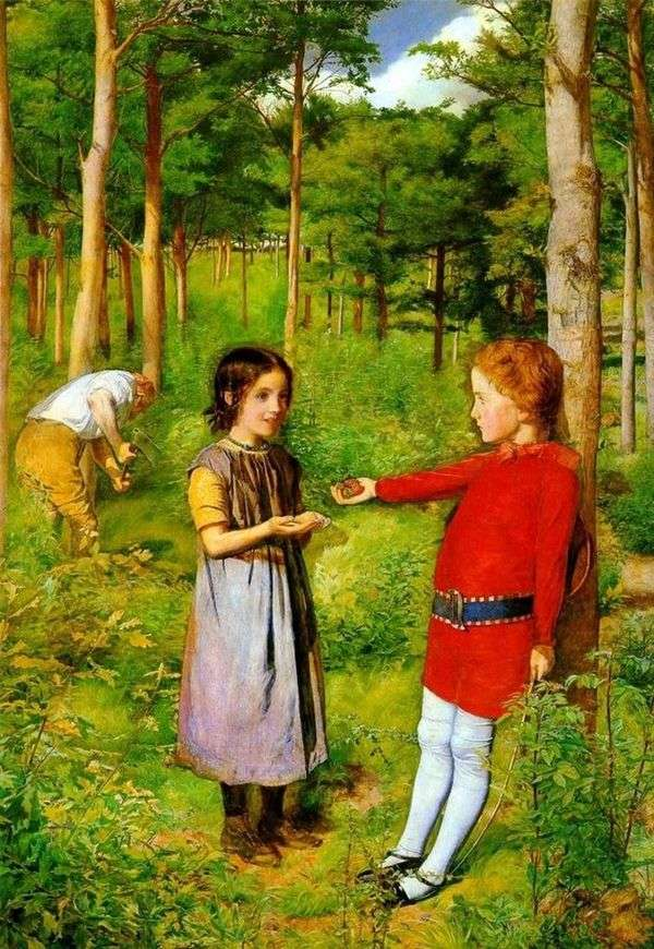 伐木工的女儿   约翰埃弗雷特米莱斯