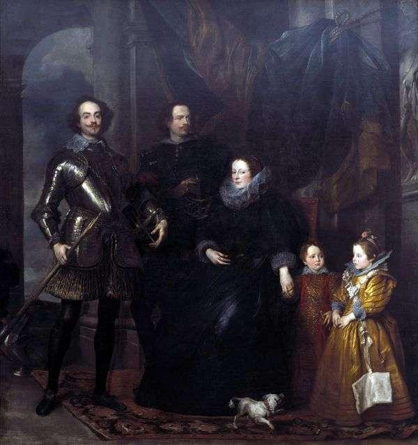 Lomellini家族的肖像   Anthony Van Dyck