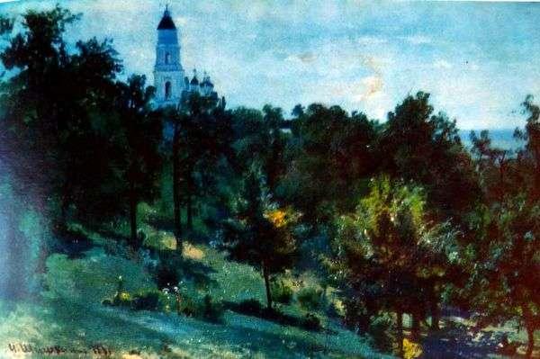 在Valaam岛上   Ivan Shishkin