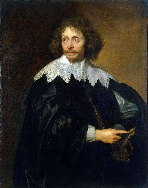 Thomas Chaloner爵士的肖像   Anthony Van Dyck