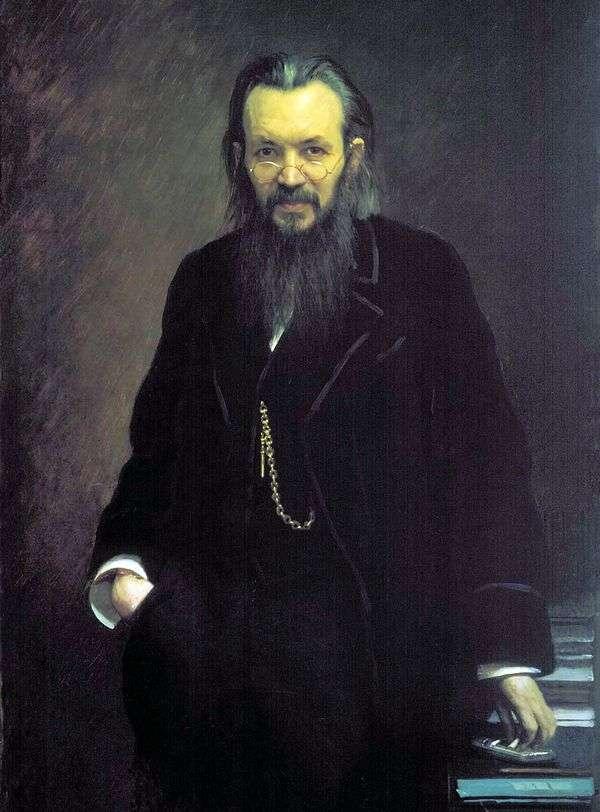 A. S. Suvorin的肖像   伊万克拉姆斯科伊