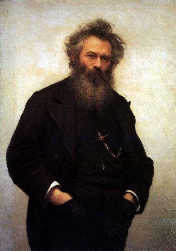 I. I. Shishkin的画像   Ivan Kramskoy