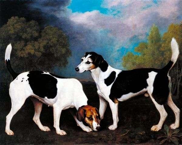 景观与猎犬   乔治斯塔布斯