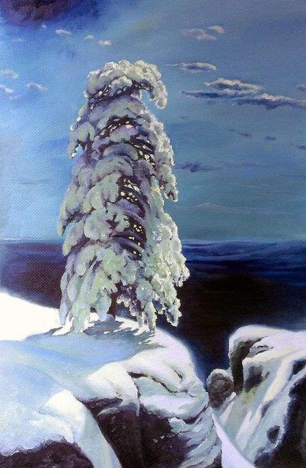 在北方,狂野......   Ivan Shishkin