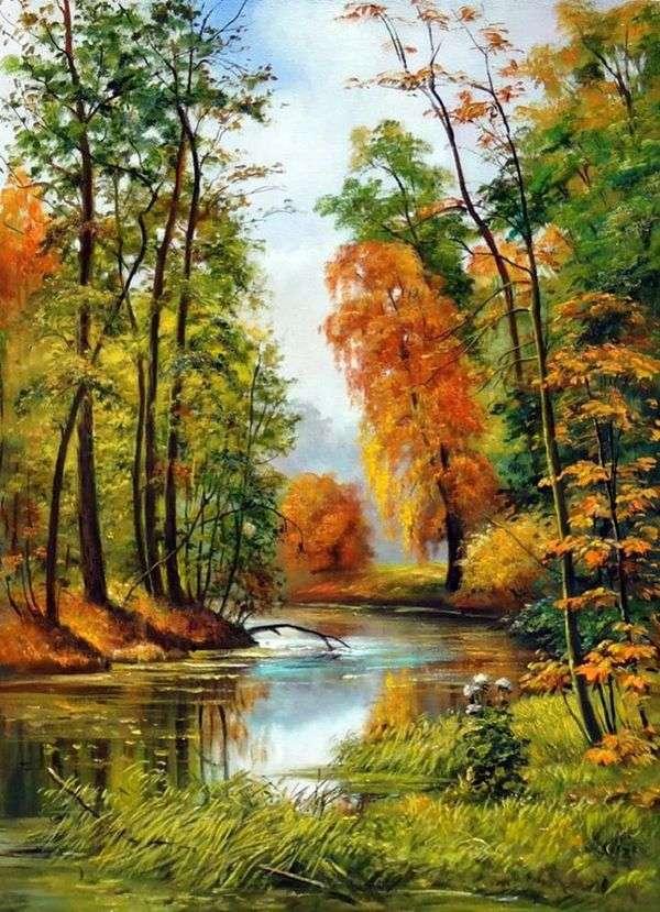 秋季景观   伊万 希什金