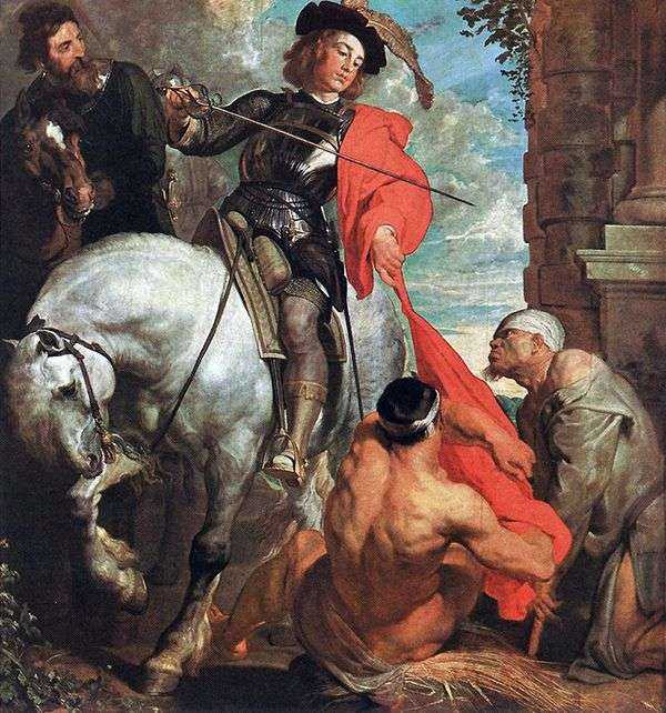 圣马丁和乞丐   安东尼范戴克