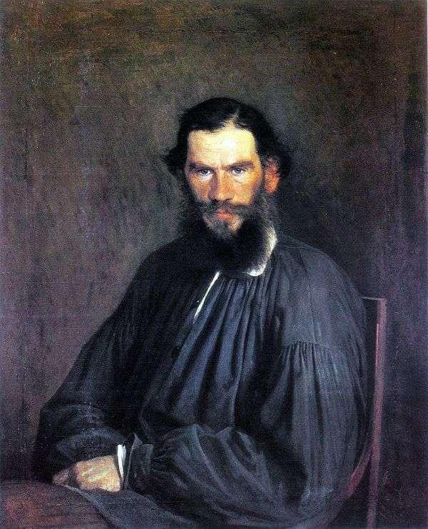 L. N. 托尔斯泰的肖像   伊万克拉姆斯科伊