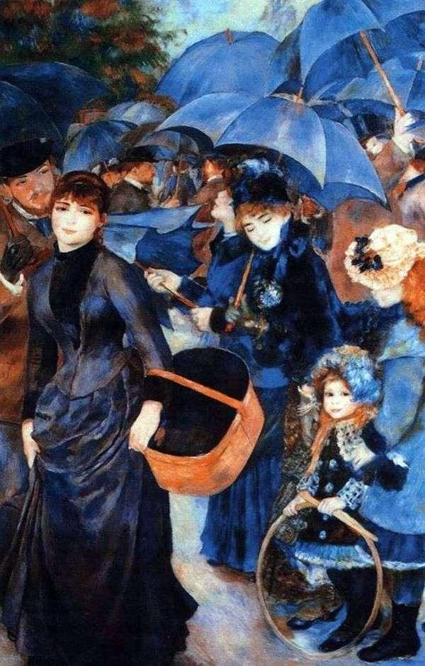 遮阳伞   Pierre Auguste Renoir
