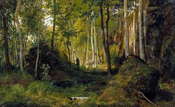 景观与猎人   伊万希什金