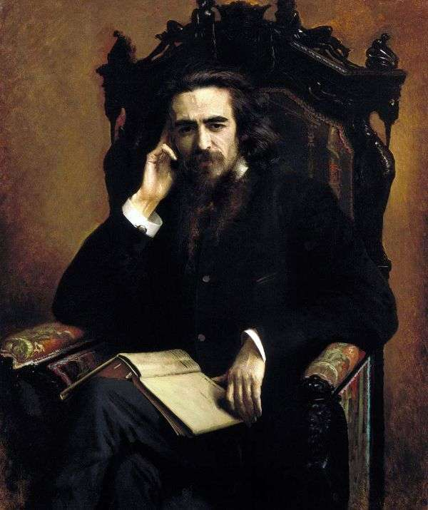 索洛维约夫的肖像   伊万克拉姆斯科伊