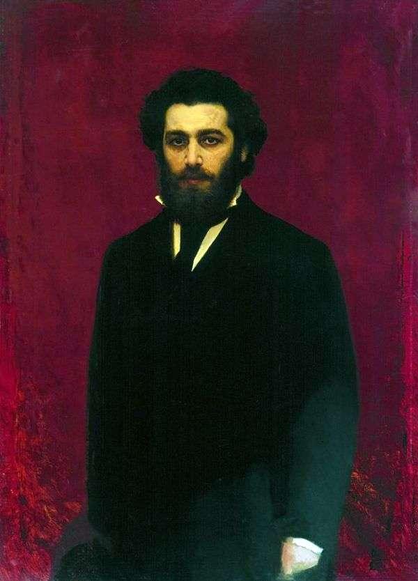 艺术家Arkhip Ivanovich Kuindzhi的画像   Ivan Kramskoy