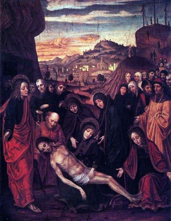 基督的哀悼   Ambrogio Borgognone