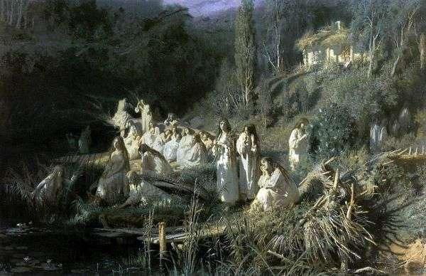 五月之夜(美人鱼)   伊万克拉姆斯科伊