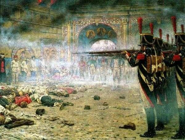 征服莫斯科(纵火犯或在克里姆林宫射击)   Vasily Vereshchagin