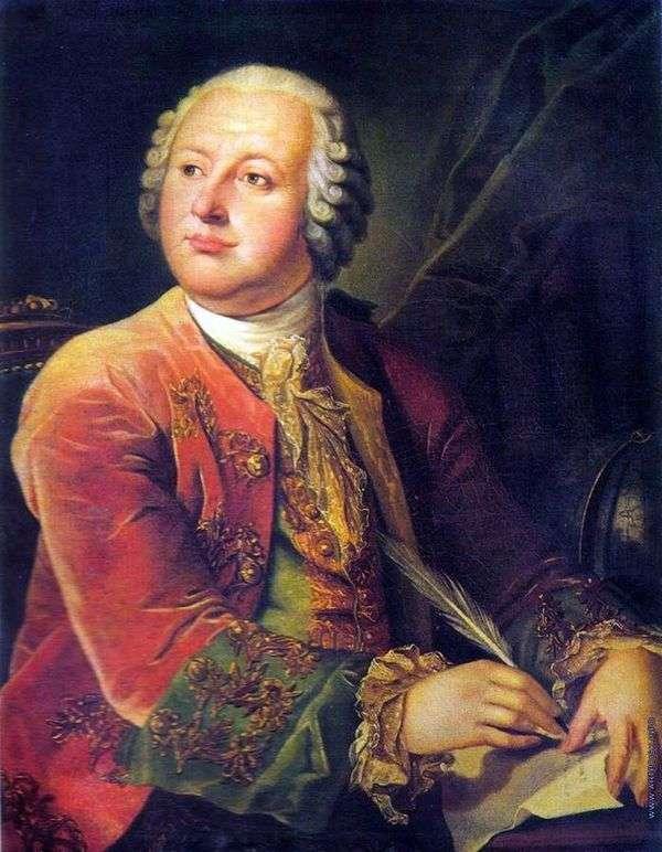 M. V. Lomonosov的肖像   Leonty Miropolsky