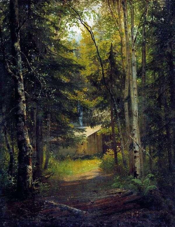 在森林里的了望塔   伊万 希什金