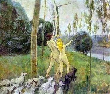 Daphnis和Chloe   Victor Borisov Musatov