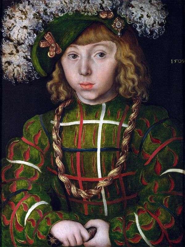 约翰 弗里德里希(Magnimous)   卢卡斯(Elca Cranach)