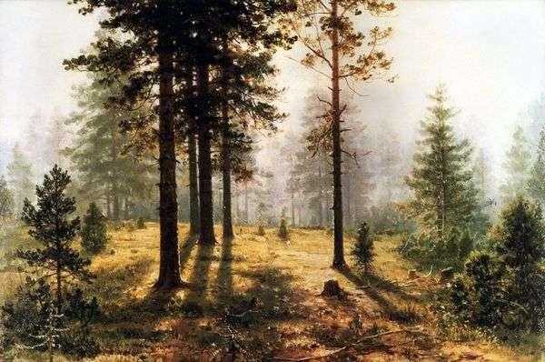 在森林里雾   伊万 希什金