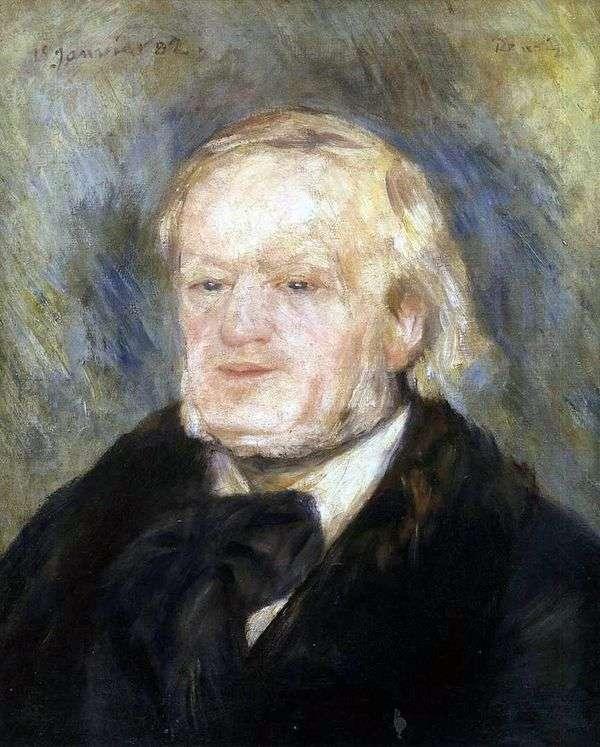 瓦格纳的肖像   皮埃尔奥古斯特雷诺阿
