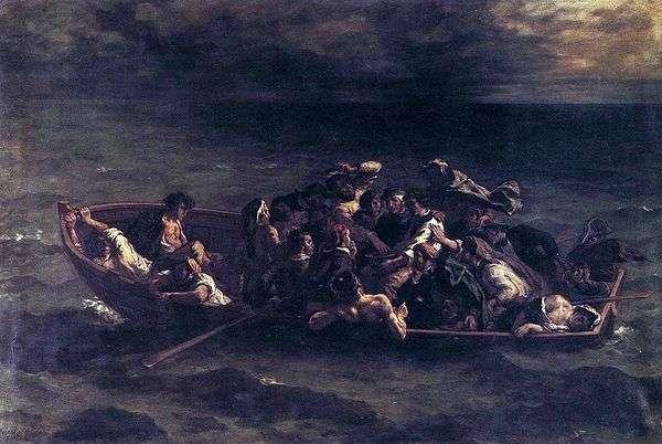 Don Juan Shipwreck   Eugene Delacroix