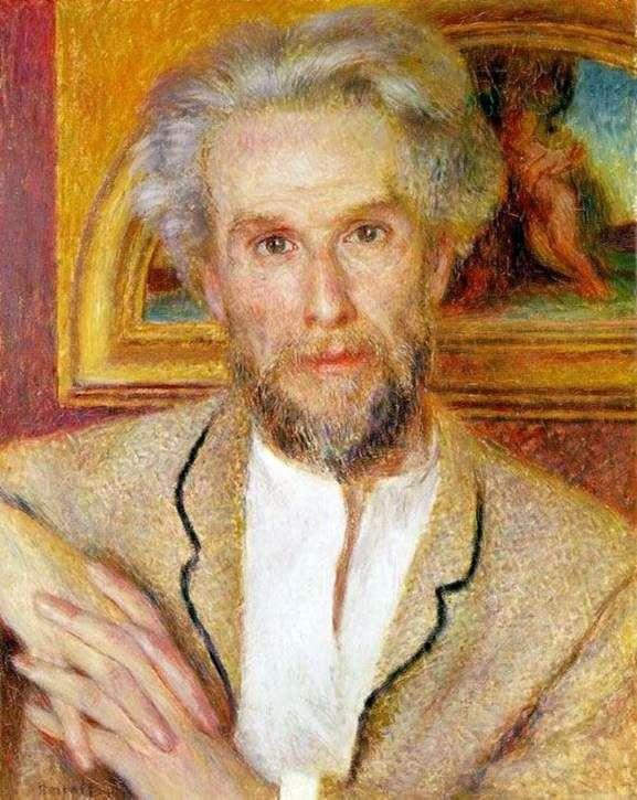 Victor Choquet的画像   Pierre Auguste Renoir