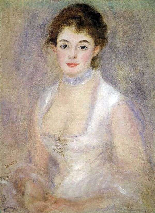 Henrietta Henriot   Pierre Auguste Renoir的肖像