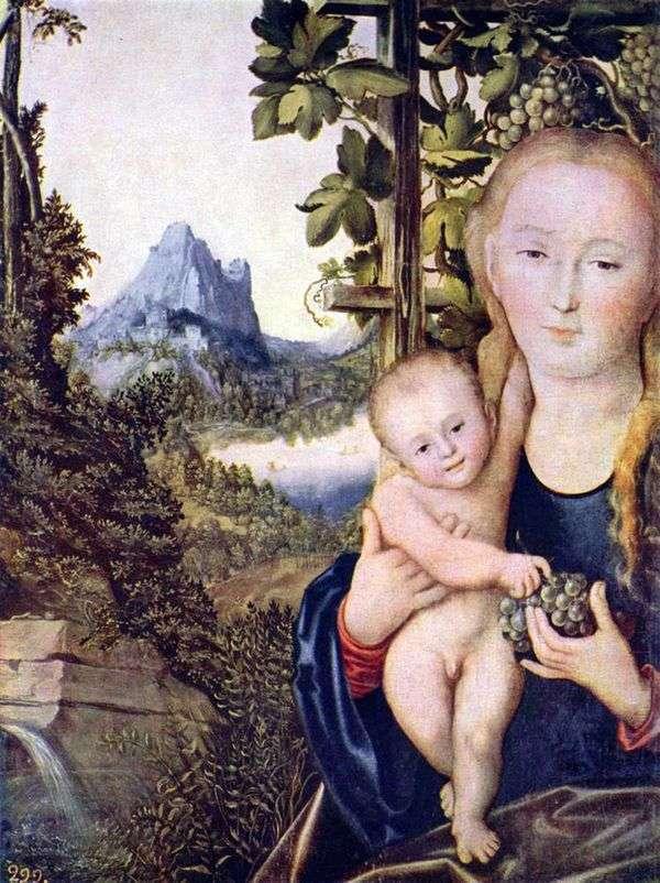 麦当娜和儿童   卢卡斯克拉纳赫