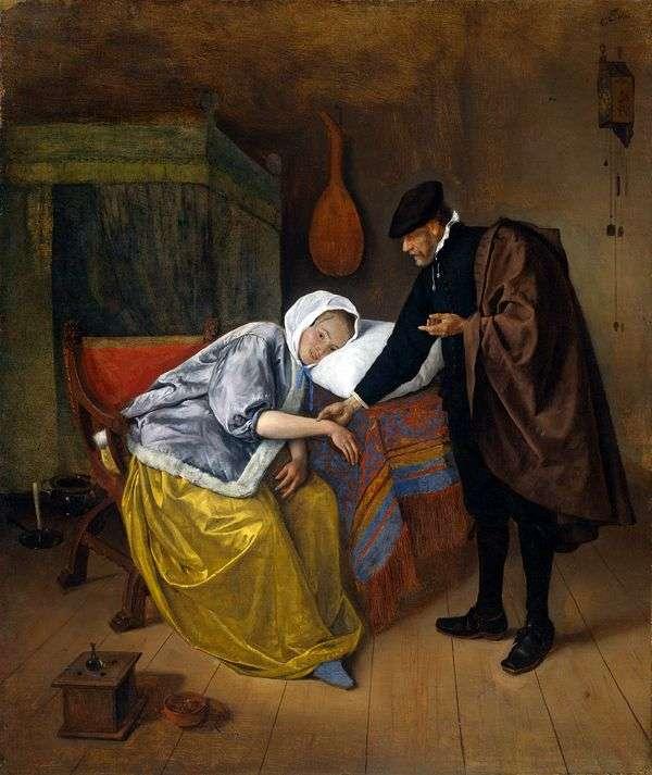 医生和病人   Jan Steen