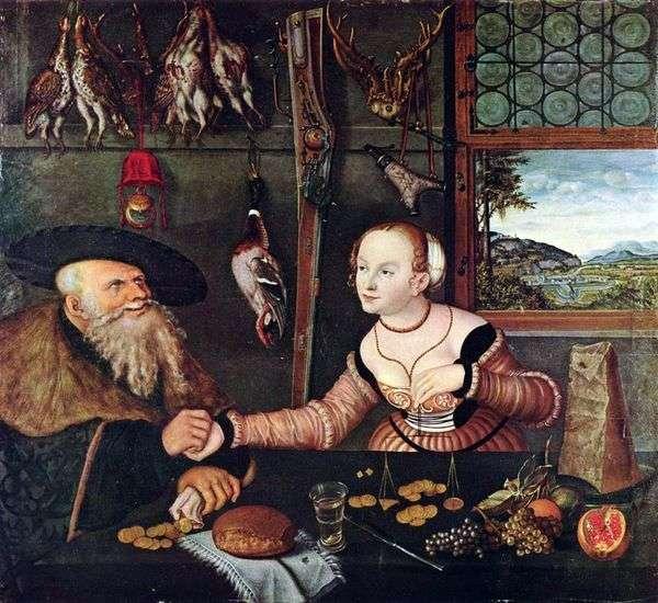 Mesalliance   Lukas Cranach
