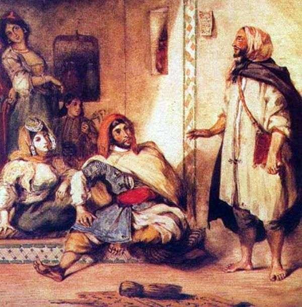 摩洛哥家庭   尤金德拉克罗瓦