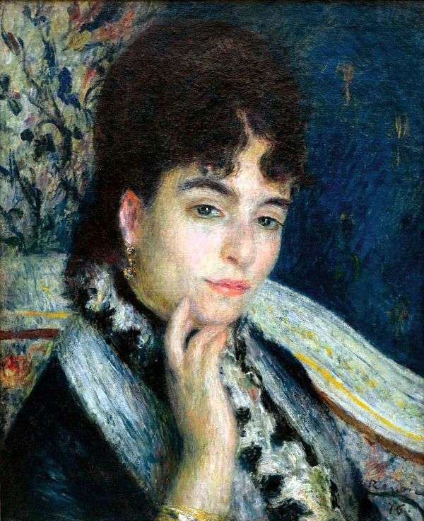 Alphonse Dade夫人的肖像   皮埃尔   奥古斯特雷诺阿