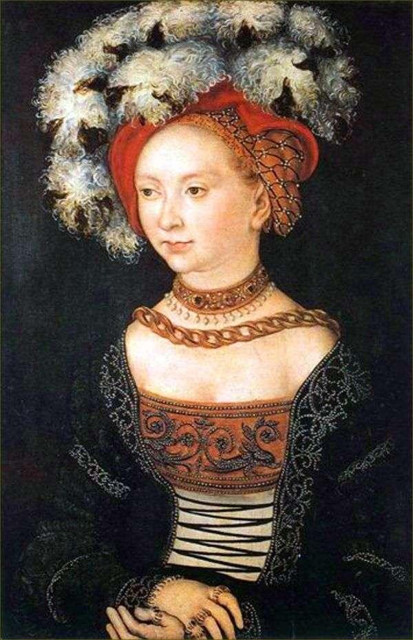 年轻女子   卢卡斯克拉纳赫