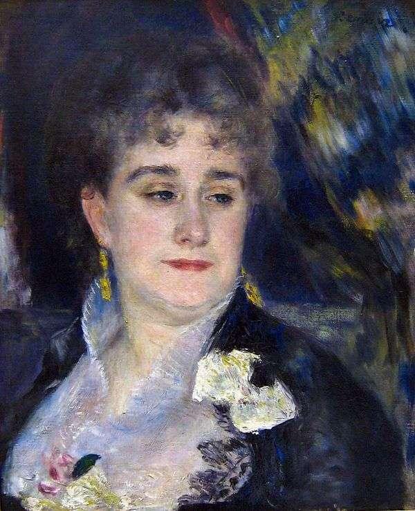 Charpentier夫人的肖像   皮埃尔奥古斯特雷诺阿