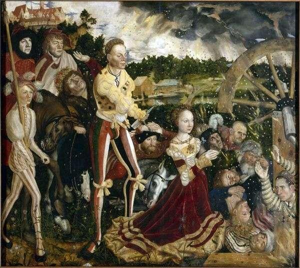 圣凯瑟琳的殉难   卢卡斯克拉纳赫