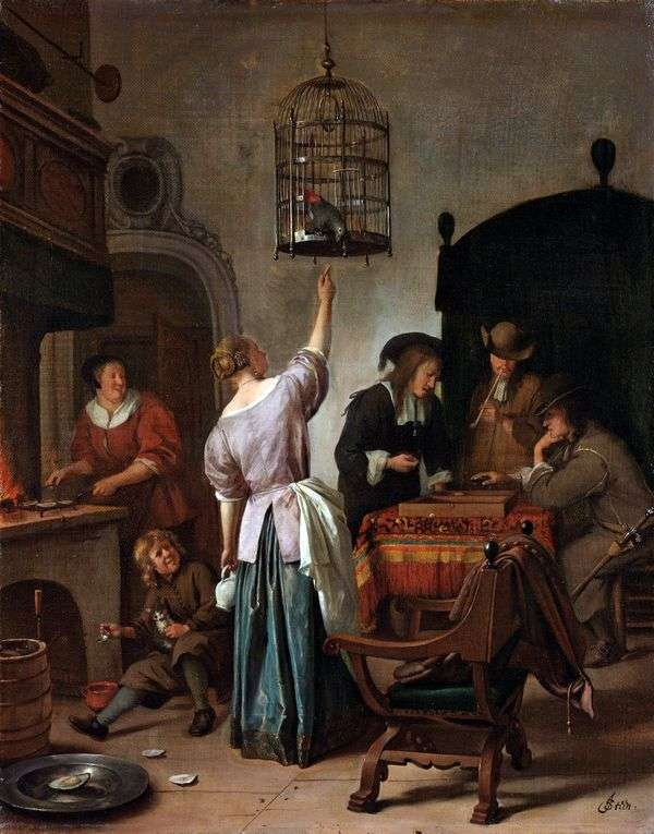 Parrot Cage   Jan Steen