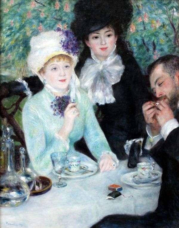 早餐后   Pierre Auguste Renoir