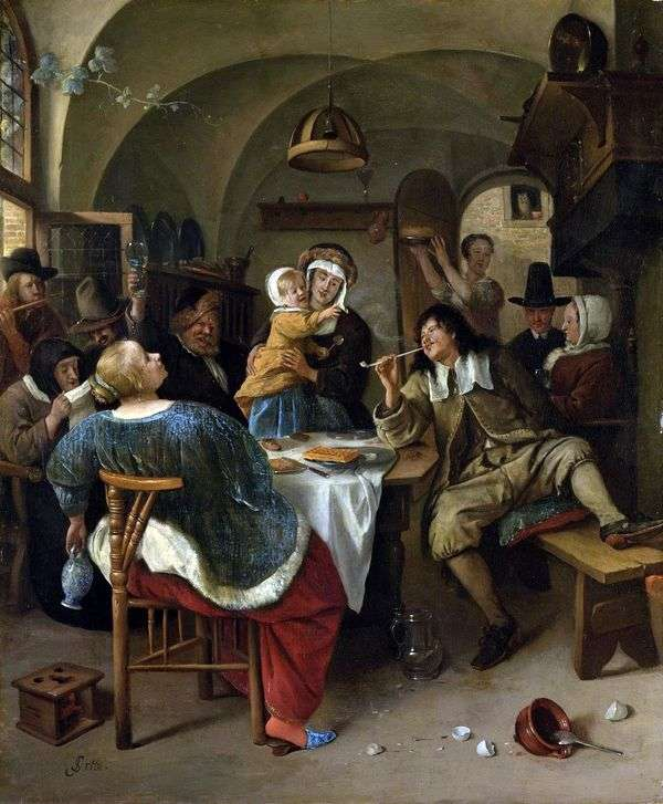 家庭聚会   Jan Steen