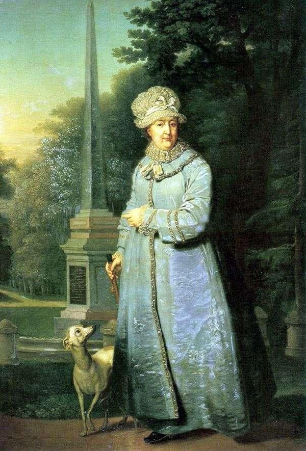 沙皇公园的凯瑟琳二世   弗拉基米尔博罗维科夫斯基