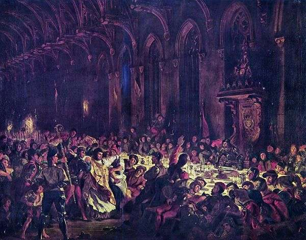 列日大主教的谋杀   尤金德拉克罗瓦