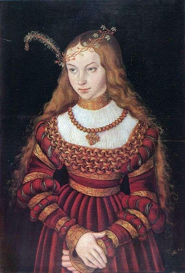 Sibilla Klevskoy画象   Lukas Cranach