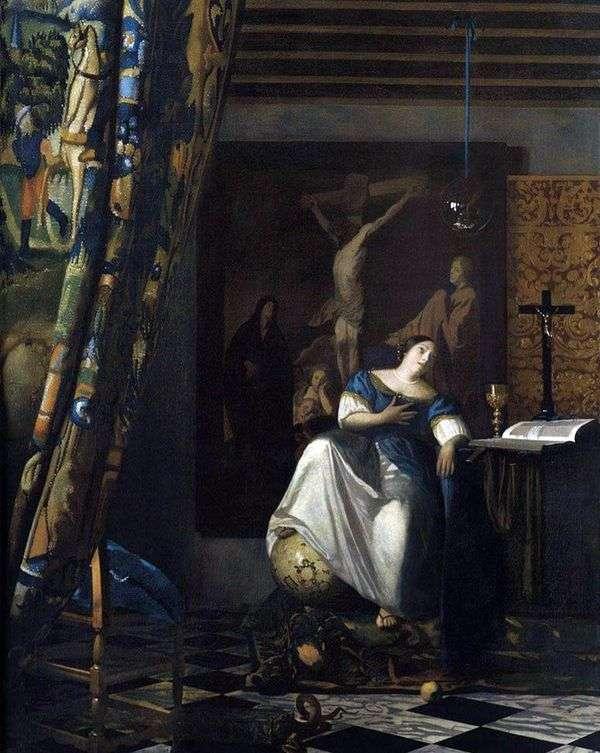 信仰的寓言   Jan Vermeer