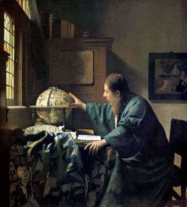 天文学家   Jan Vermeer