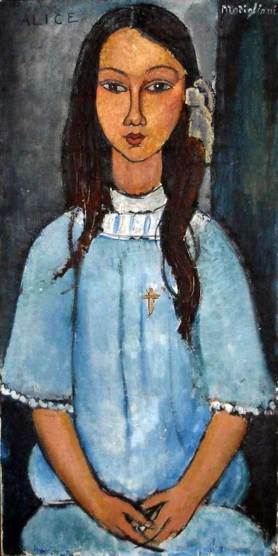 爱丽丝   Amedeo Modigliani