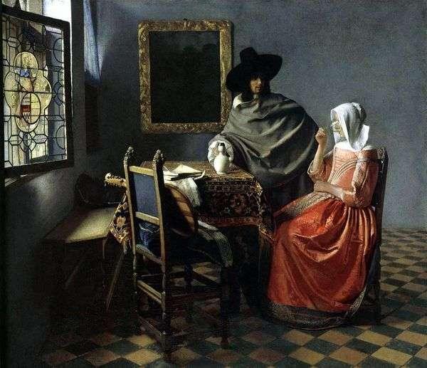 一杯酒   Jan Vermeer