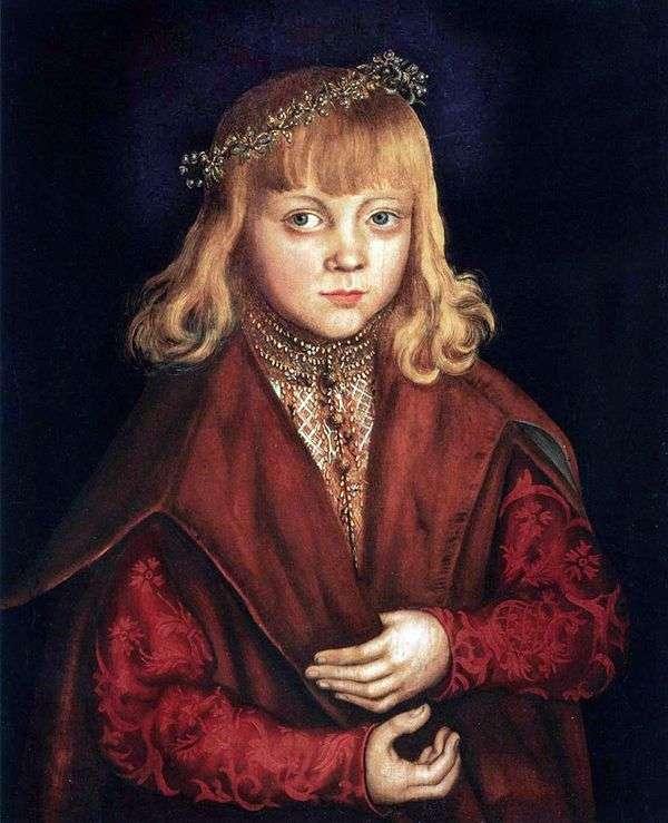 王子和公主的肖像   卢卡斯克拉纳赫