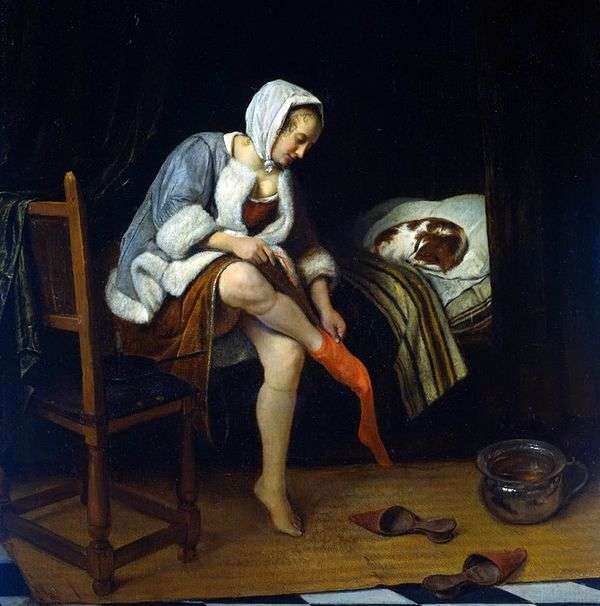 女人的厕所   Jan Steen