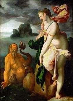 Glaucus和Scylla   Bartholomeus Spranger